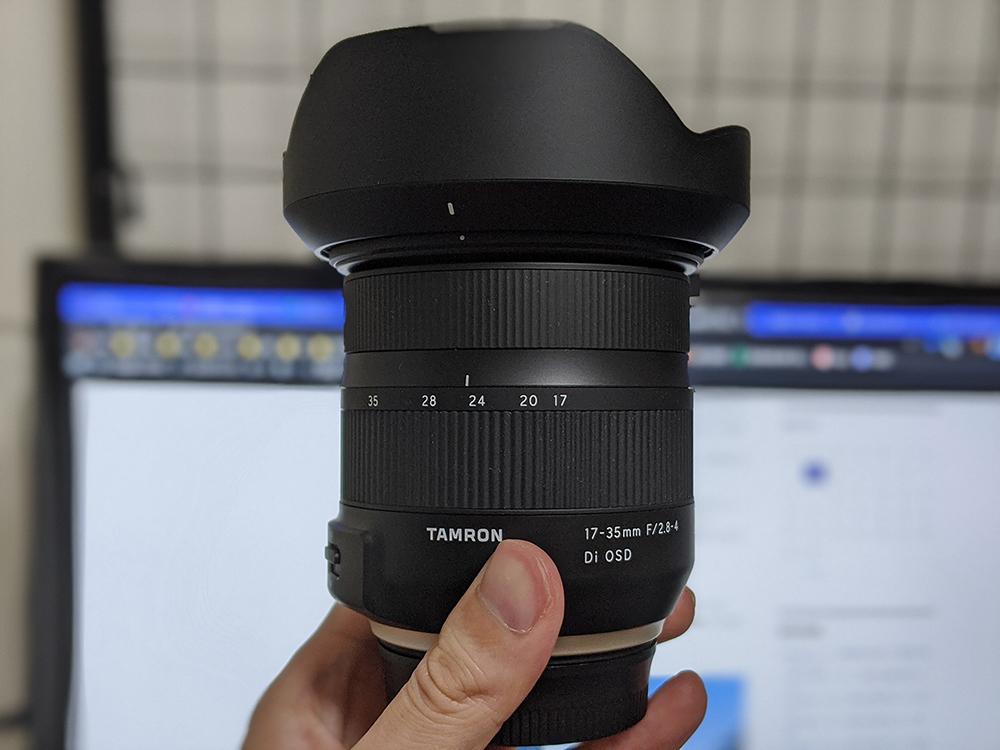 TAMRON 17-35mm F/2.8-4 Di OSD を買いました